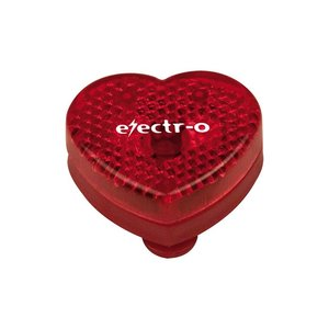 Heart Shaped Plastic Reflector Main Image