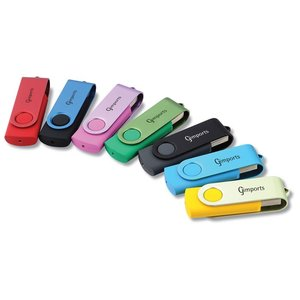 DISC 512mb Twister Colour Promotional Flashdrive Main Image