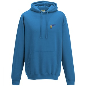 AWDis College Hoodie - Embroidered Main Image