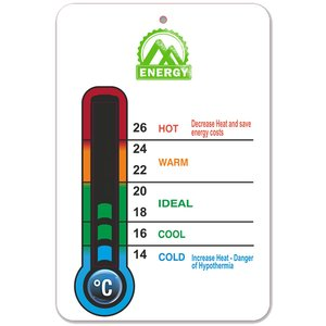 Energy Saver Room Thermometer Main Image