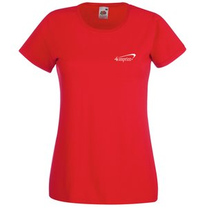 Fruit of the Loom Value Ladies Tee - Coloured Main Image