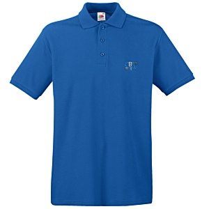 Fruit of the Loom Premium Polo Shirt - Coloured Main Image