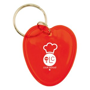 Shaped Keyring - Heart