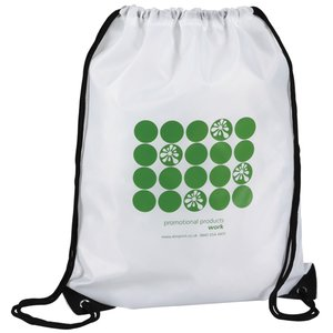 Economy Drawstring Bag - Polka Dot Design - 2 Day Main Image