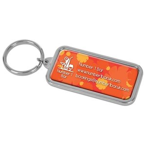 DISC Zante Rectangular Keyring