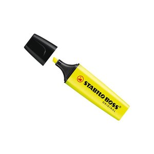 STABILO Boss Highlighter - Yellow - 10 day Main Image