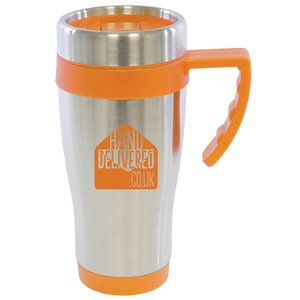 Colour Trim Travel Mug Main Image