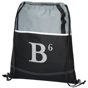 DISC Boardwalk Drawstring Bag - to clear! Main Image