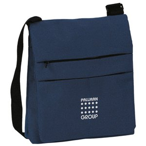 DISC Triple Zipped Shoulder Bag Main Image