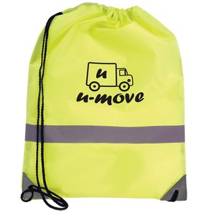 Reflective Hi Vis Drawstring Bag - 3 Day Main Image