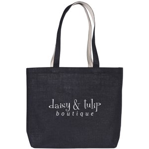 Highstead Jute Tote - Black Main Image
