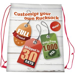 DISC Wrexham Drawstring Bag - Full Colour Main Image