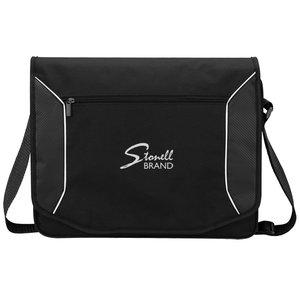 Stark Tech Laptop Messenger Bag Main Image