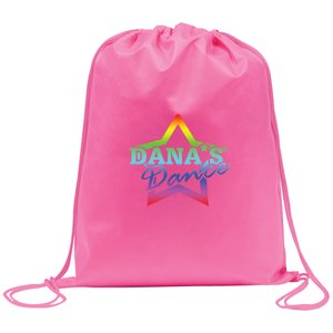 Rainham Drawstring Bag - Full Colour Main Image