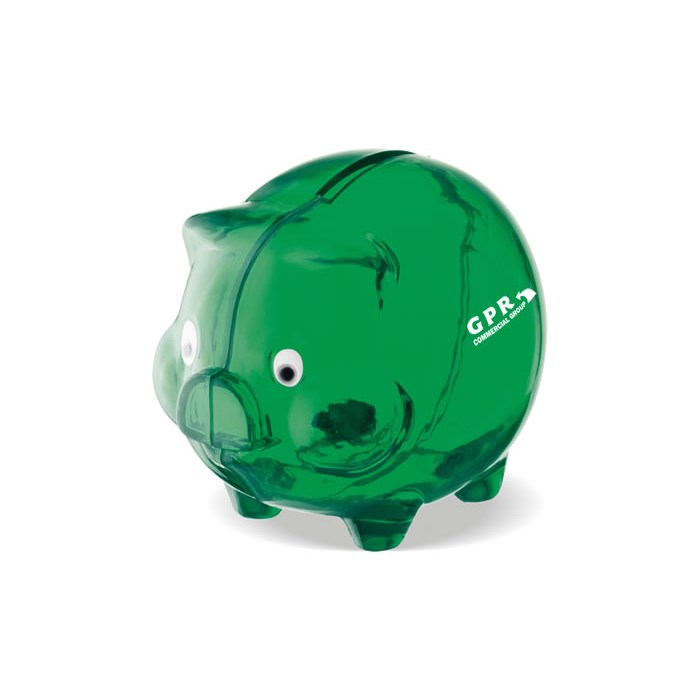 501819 is no longer available 4imprint promotional products for Mini piggy banks