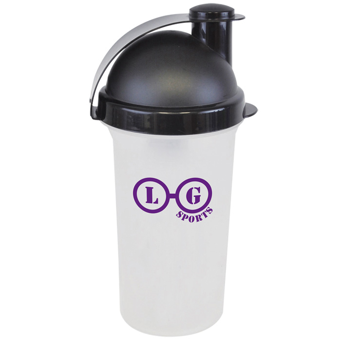 Protein Shaker Canada: 4imprint.co.uk: 600ml Plastic Protein Shaker 501903