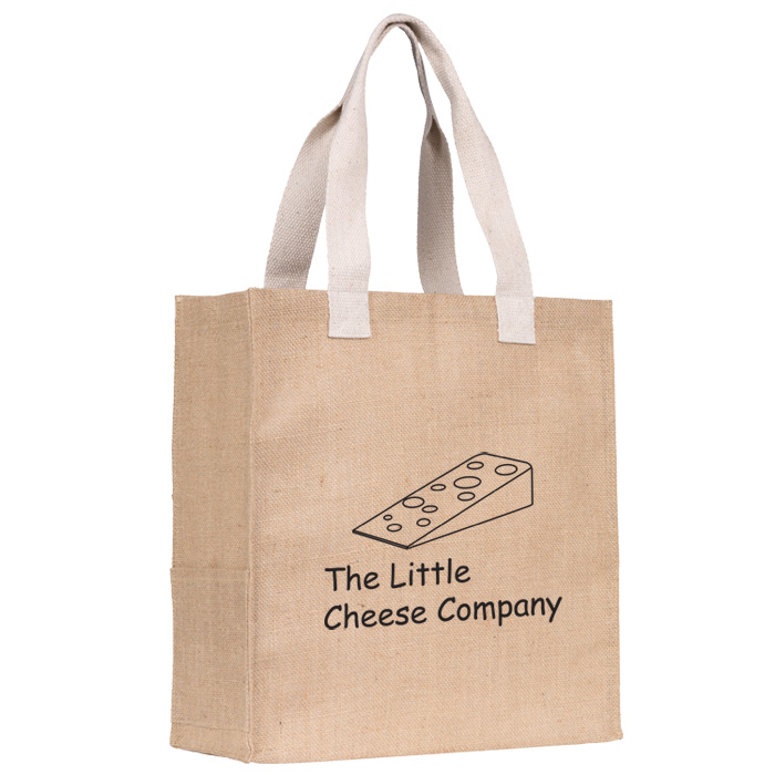 ukDargate co Tote Bag 4imprint Natural Jute 402541 54RL3Ajq
