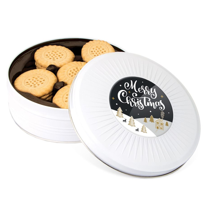 Christmas Share Tin Shortbread Biscuits