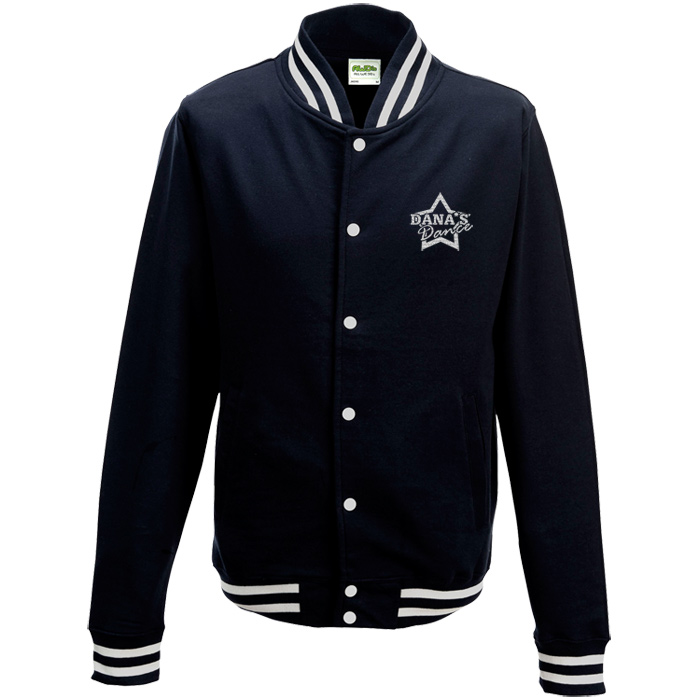 Imprint ie awdis college jacket embroidered e