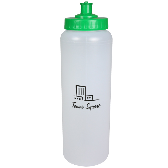 3aa25d6daf 4imprint.co.uk: 1 litre Sports Bottle - Push Pull Cap 702690