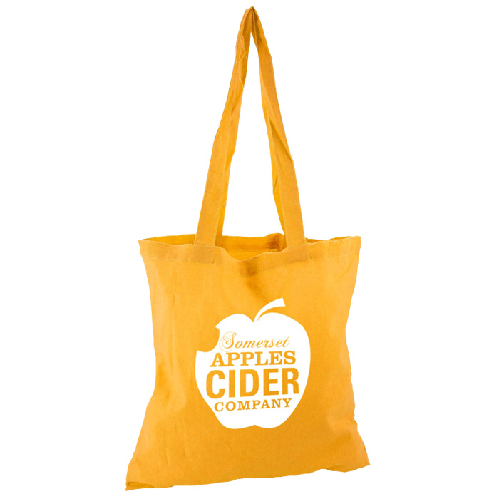 2d09f4f36c4 4imprint.co.uk: Eco-Friendly Long Handled Tote Bag - Coloured - 2 Day  400433CEXP