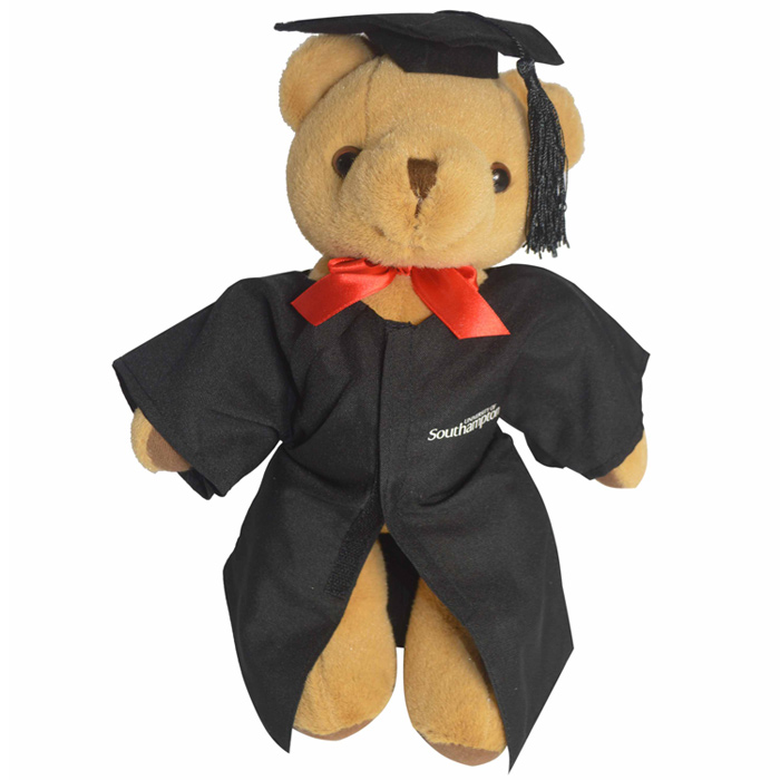 4imprint.co.uk: 30cm Jointed Honey Bear with Cap & Gown 503028C