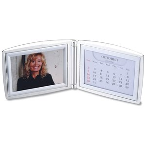 DISC Folding Photo Frame & Calendar Image 1 of 1