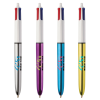 View Extra Image 2 of 3 of BIC® 4 Colour Pen - Shine Barrel