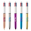 View Image 3 of 4 of BIC® 4 Colour Pen - Shine Barrel