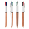 View Image 4 of 4 of BIC® 4 Colour Pen - Shine Barrel