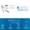 View Extra Image 2 of 2 of BIC® Round Stic BGuard Antibac Pen - White Barrel