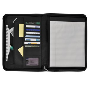 DISC Ambassador A4 Zipped Conference Folder - 2 Day