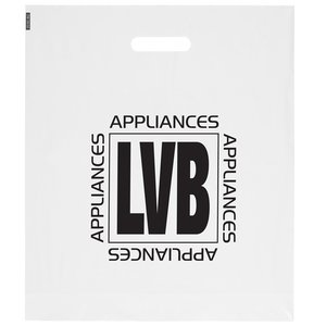 Promotional Carrier Bag - Large - Clear Image 1 of 3