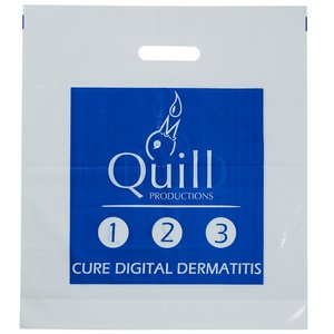 Promotional Carrier Bag - Large - Clear Image 3 of 3