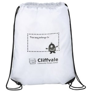 Economy Drawstring Bag - I Belong To Design Image 1 of 1