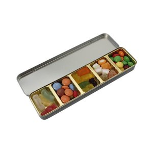 Slim Tin - Mixed Sweets - Leaf Design Image 1 of 2