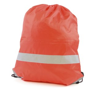 Reflective Hi Vis Drawstring Bag Image 2 of 4