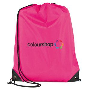 Essential Drawstring Bag - Full Colour Image 10 of 17