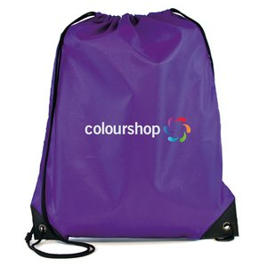 Essential Drawstring Bag - Full Colour Image 11 of 17