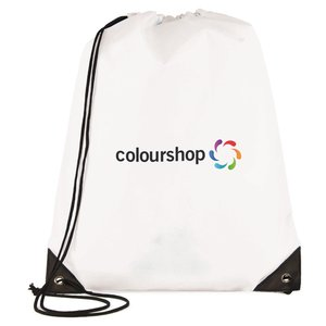 Essential Drawstring Bag - Full Colour Image 15 of 17