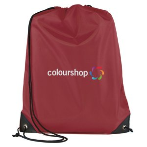 Essential Drawstring Bag - Full Colour Image 3 of 17