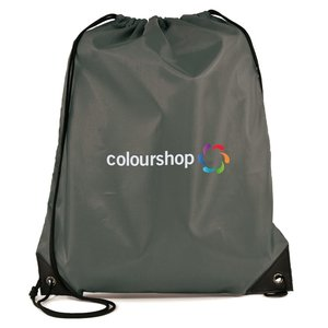 Essential Drawstring Bag - Full Colour Image 4 of 17