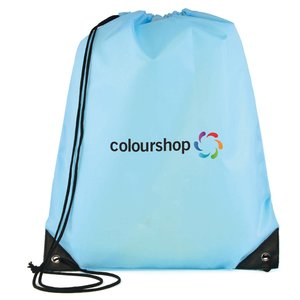 Essential Drawstring Bag - Full Colour Image 6 of 17