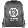 View Extra Image 1 of 1 of Essential Drawstring Bag - Black with Coloured Cords