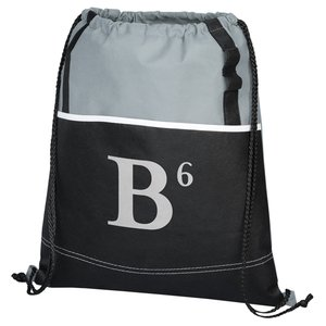 DISC Boardwalk Drawstring Bag - to clear! Image 3 of 5