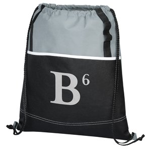 DISC Boardwalk Drawstring Bag - to clear! Image 4 of 5