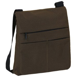 DISC Triple Zipped Shoulder Bag Image 1 of 1
