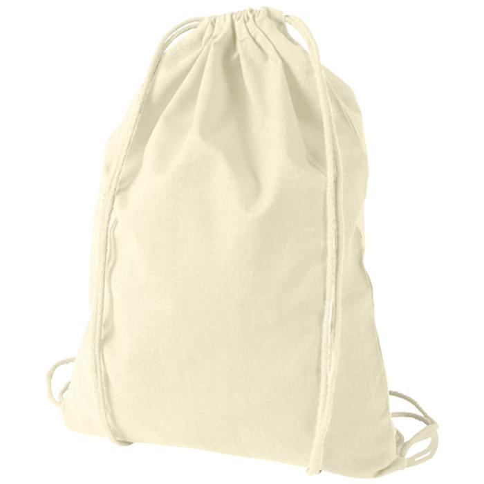 8c70ffb17376 4imprint.co.uk  Oregon Cotton Drawstring Bag - Natural 402139N