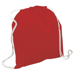 Square Cotton Bag - Coloured Image 1 of 7