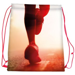 DISC Wrexham Drawstring Bag - Full Colour Image 1 of 1